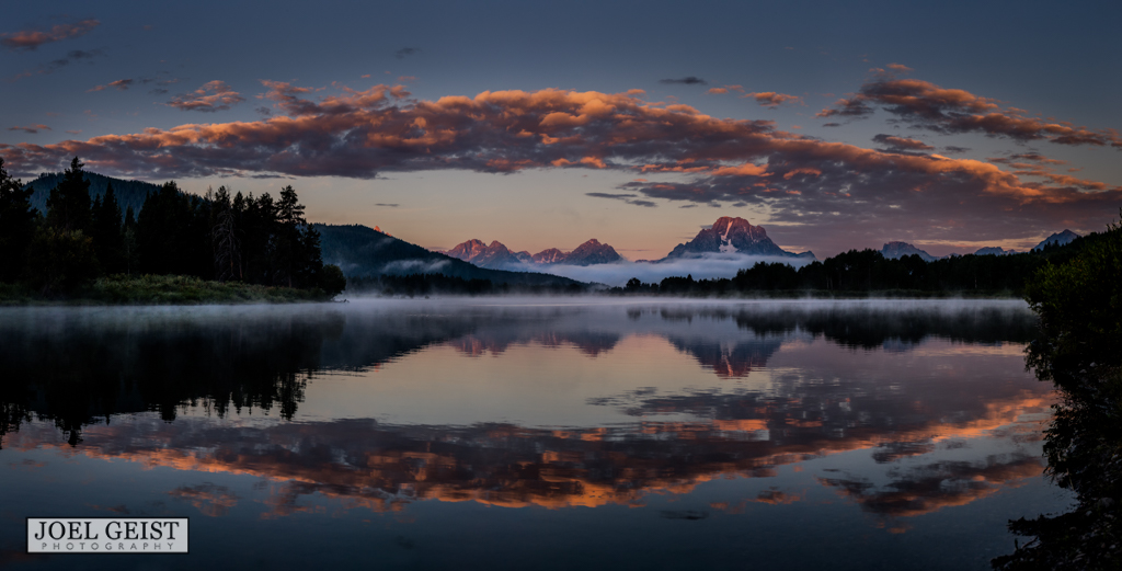 landscape, national parks, Grand Tetons National park, Oxbow Bend