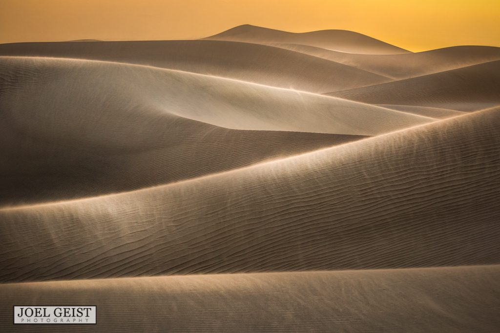 Death Valley National Park, Photography, travel, sand, dunes, yellow